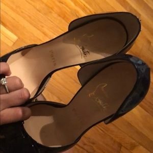 Christian Louboutin Shoes - Christian Louboutin peep toe shoes